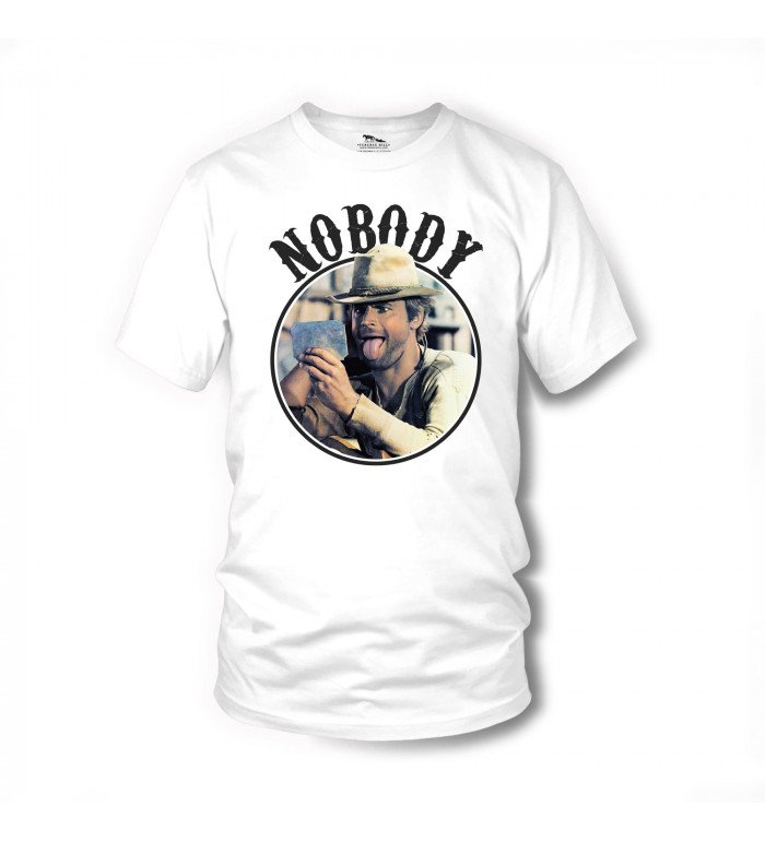 Nobody - T-Shirt (weiss) - Mein Name ist Nobody - Terence Hill XL