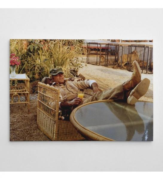 Leinwand - Slim genannt das Krokodil - Drink - Das Krokodil und sein Nilpferd - Terence Hill