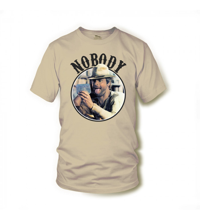 Nobody - T-Shirt (sand) - Mein Name ist Nobody - Terence Hill S