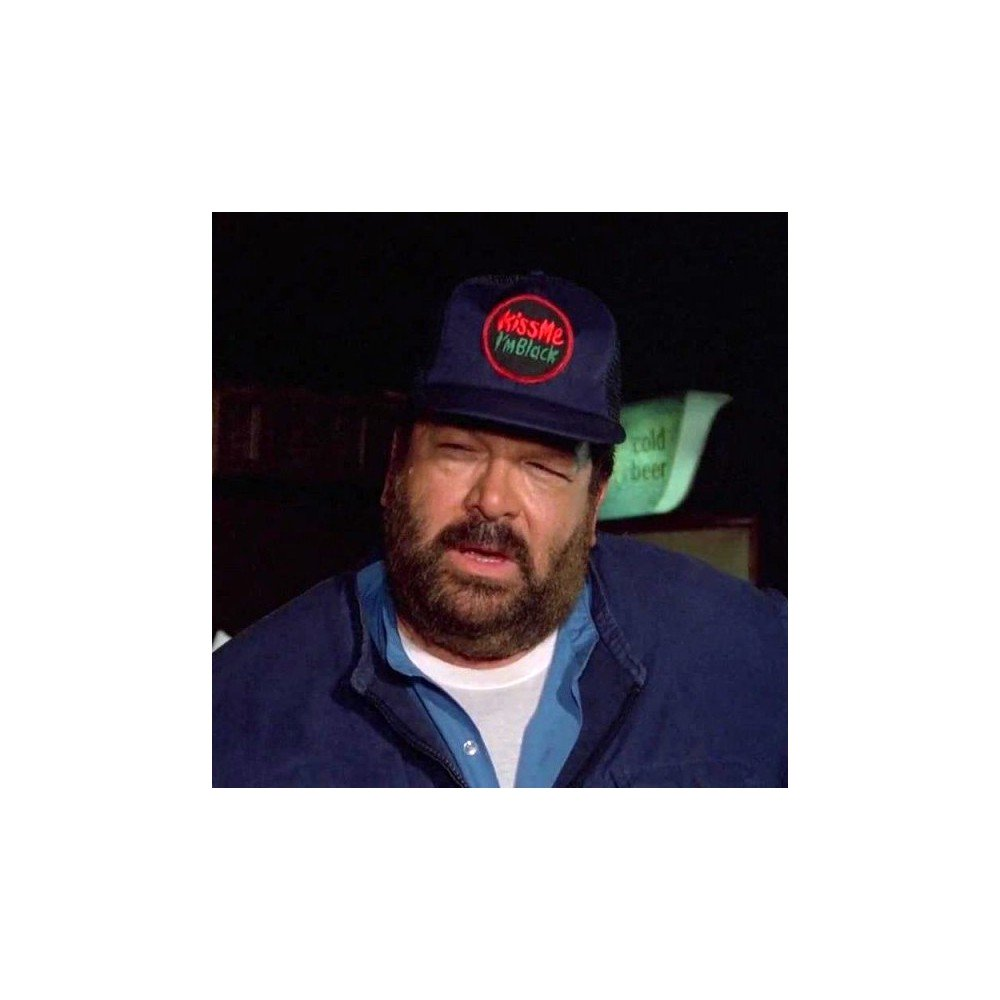 Kiss me I'm black - Trucker Cap (schwarz) - Bud Spencer®