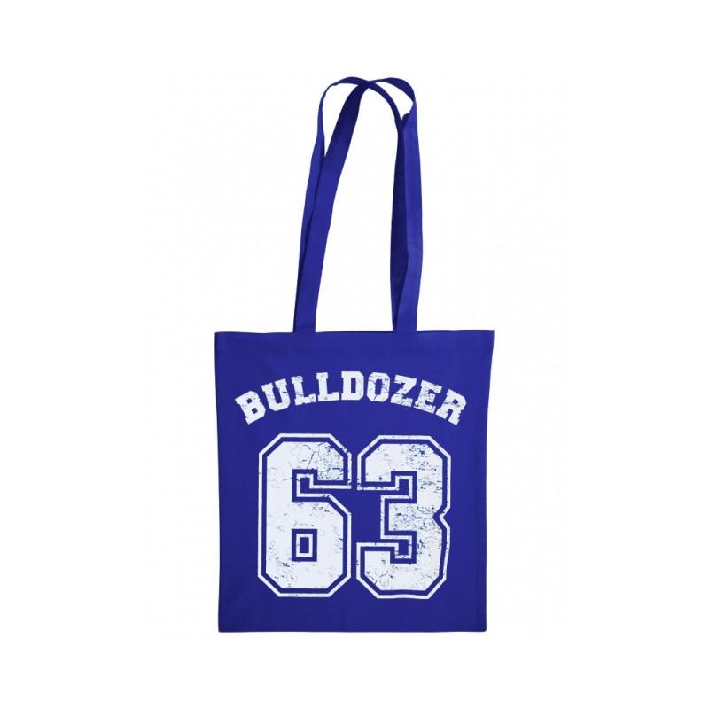 Baumwolltasche - Bulldozer 63 - (blau) - Bud Spencer®