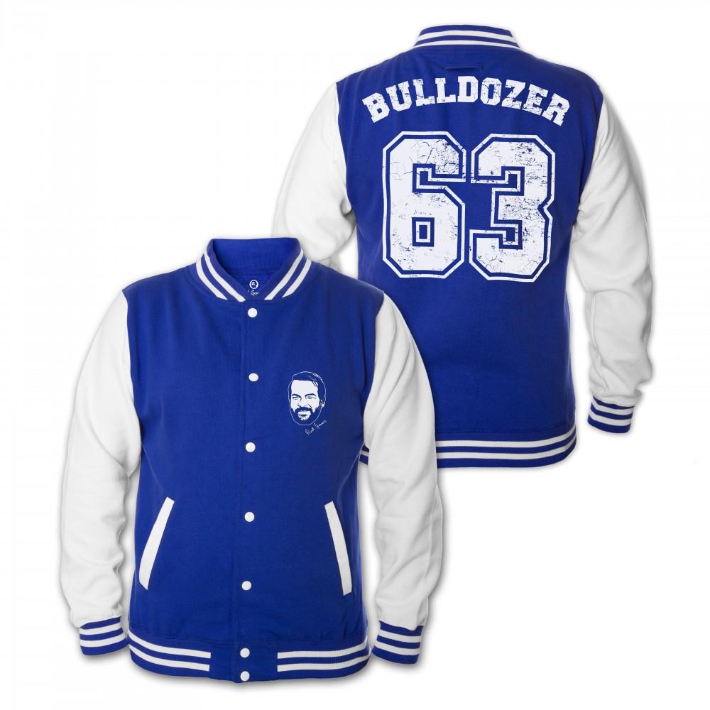 Bulldozer 63 - College Jacke (blau) - Bud Spencer®