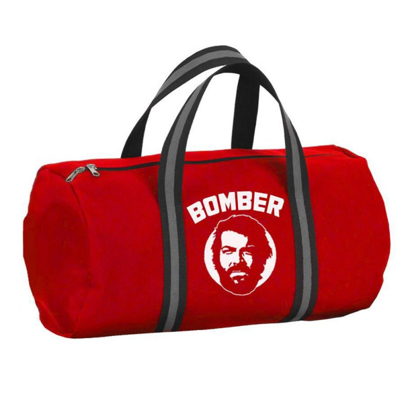 Bud Spencer Bomber Tasche (rot) - Bud Spencer® - Bud Spencer Official Shop