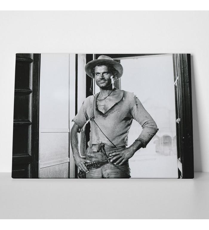 Leinwand - Der müde Joe - Saloon - Die rechte und die linke Hand des Teufels - Terence Hill