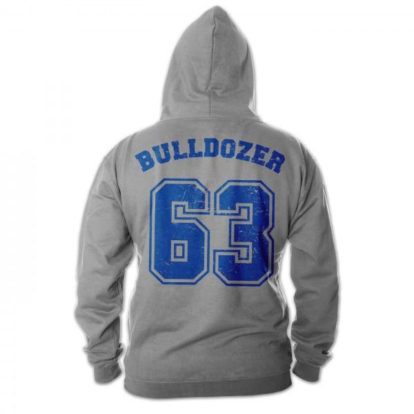 Bulldozer 63 - Hoodie (grau) - Bud Spencer®