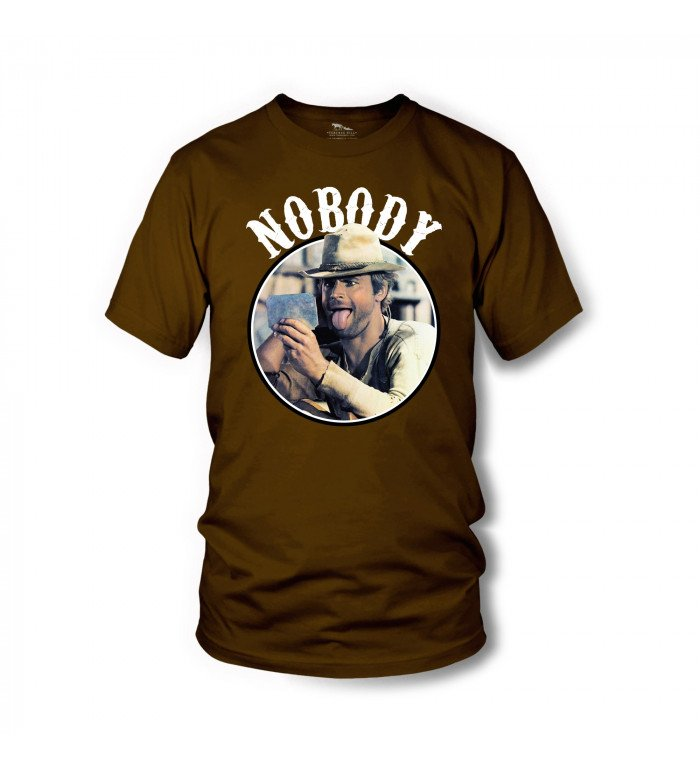 Nobody - T-Shirt (braun) - Mein Name ist Nobody - Terence Hill S