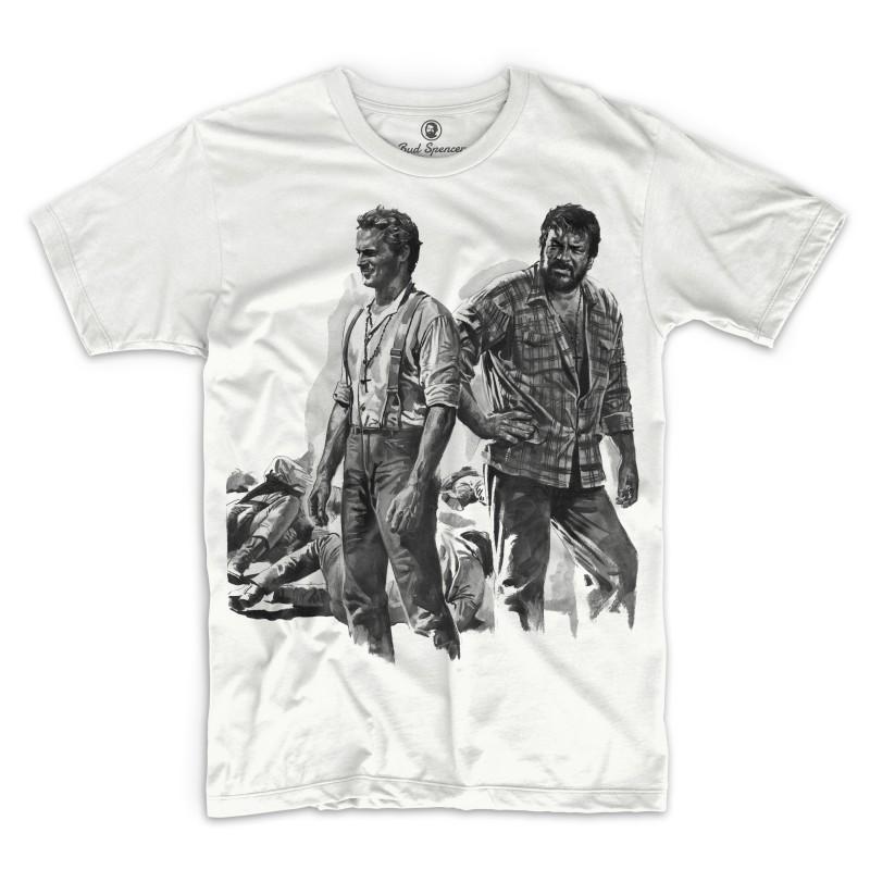 Zwei Himmelhunde auf dem Weg zur Hölle - T-Shirt (weiss) - Bud Spencer® 4XL