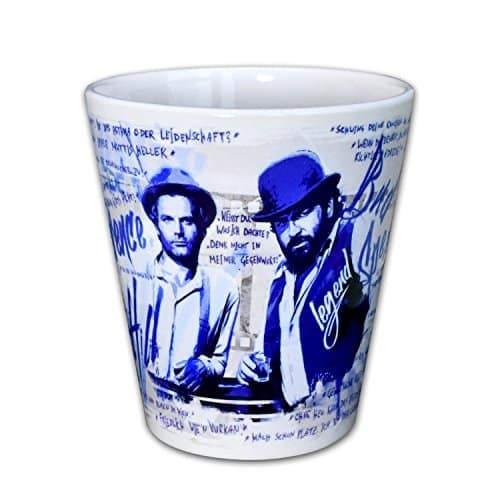Terence Hill & Bud Spencer – Cappuccino Tasse (330ml)
