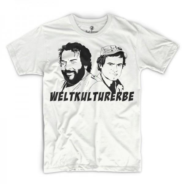 Weltkulturerbe - T-Shirt (weiss) - Bud Spencer®