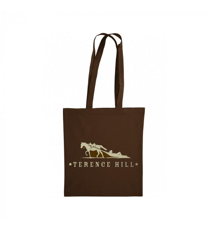 Baumwolltasche - Terence Hill Logo (braun)