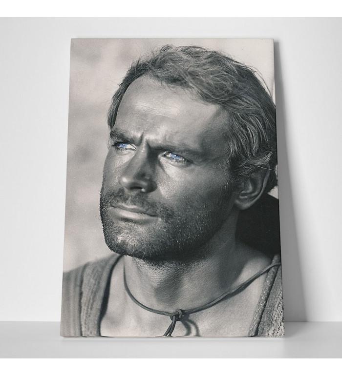 Leinwand - Der müde Joe - Portrait - Die rechte und die linke Hand des Teufels - Terence Hill