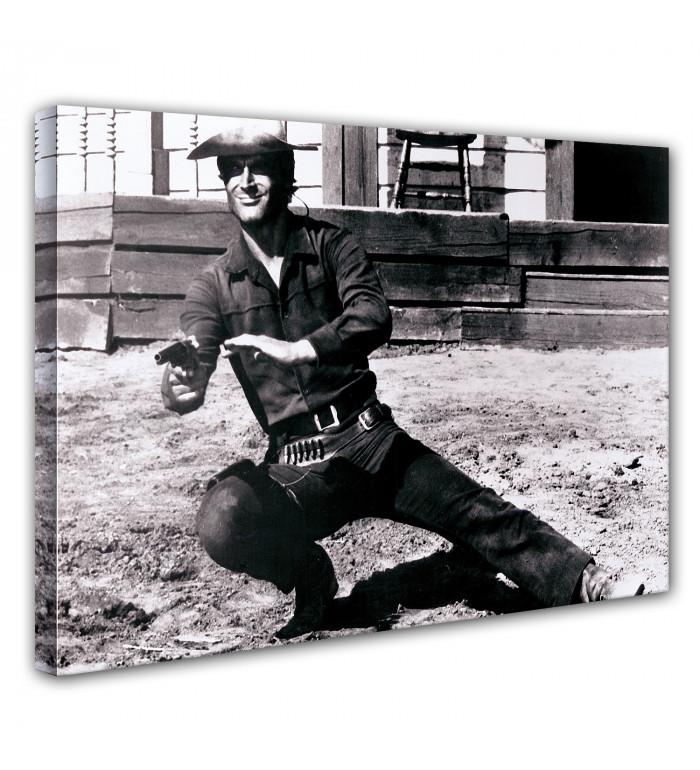 Leinwand - Sir Thomas Moore - Revolver - Verflucht, verdammt und Halleluja - Terence Hill 80x60cm