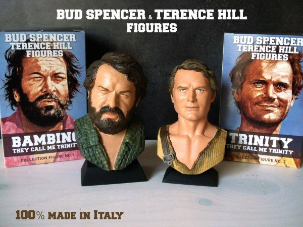 Bud Spencer Bambino & Terence Hill Trinity Figure Set