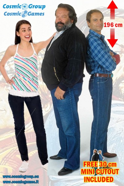 Bud Spencer & Terence Hill Pappaufsteller CUTOUT