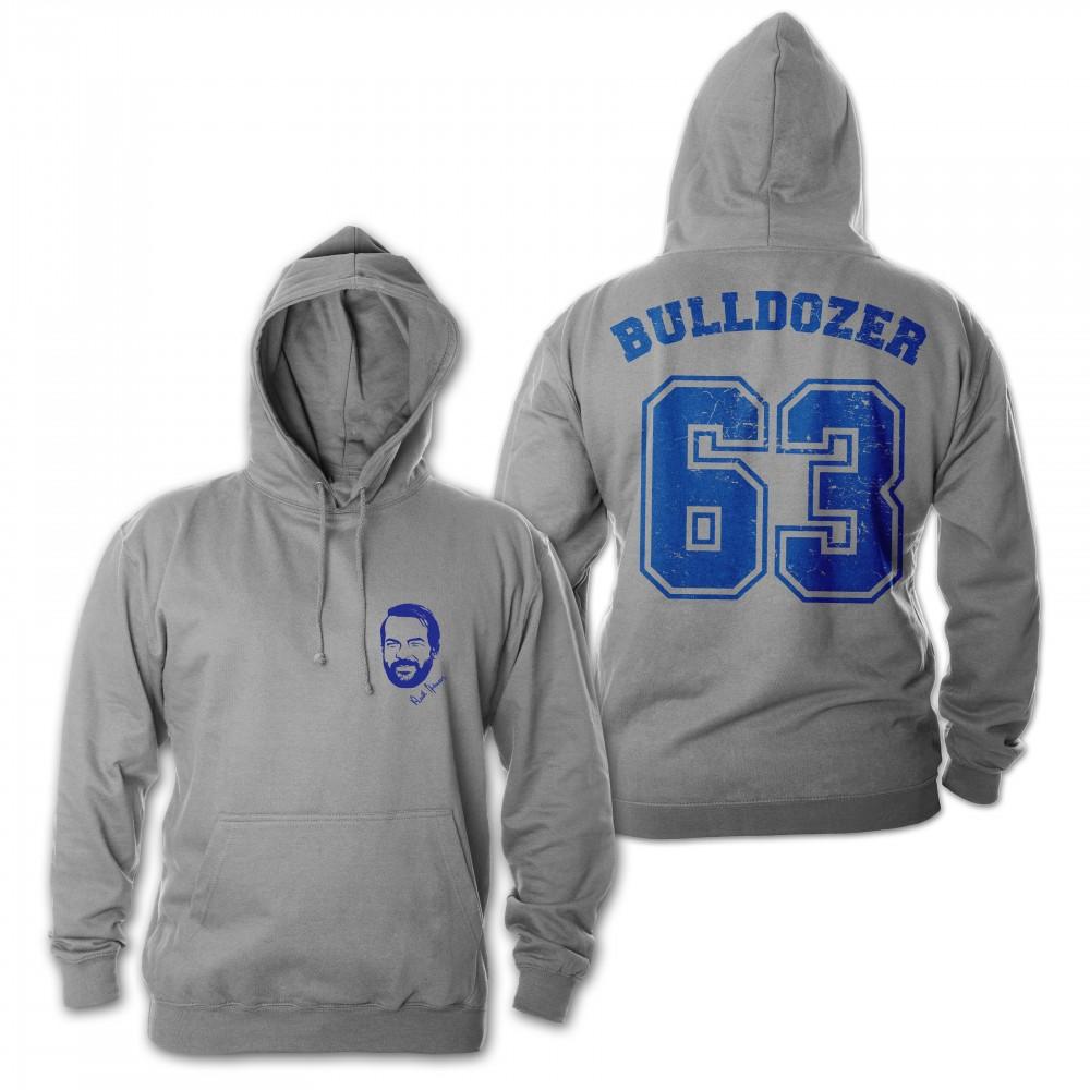 Bulldozer 63 - Hoodie (grau) - Bud Spencer® XL