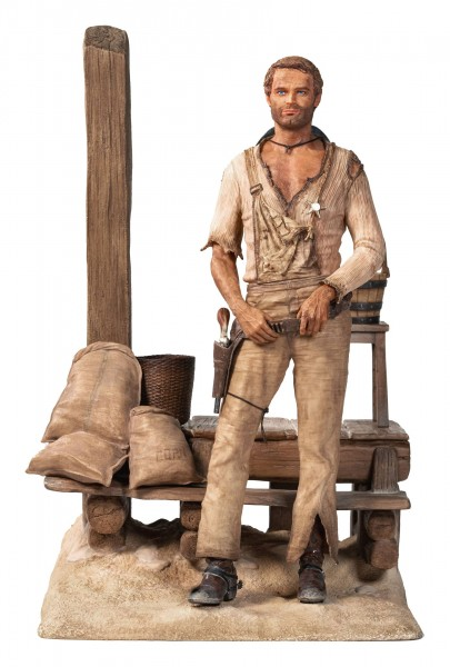 terence hill statue supacraft
