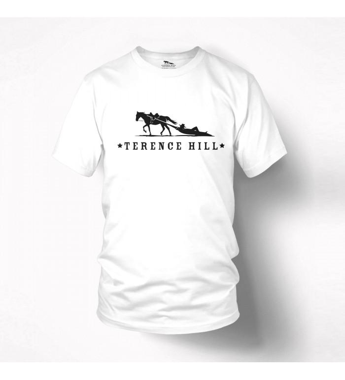 Logo - T-Shirt (weiss) - Terence Hill XL