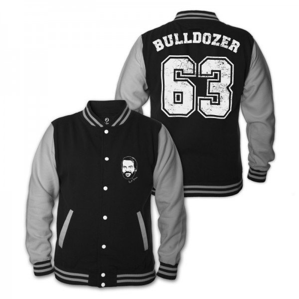 Bulldozer 63 - College Jacke (schwarz) - Bud Spencer®