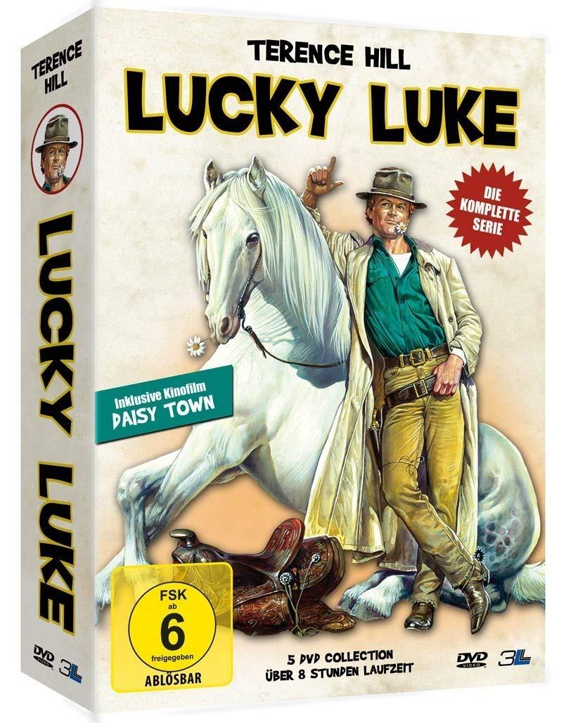LUCKY LUKE 5 DVD COLLECTION
