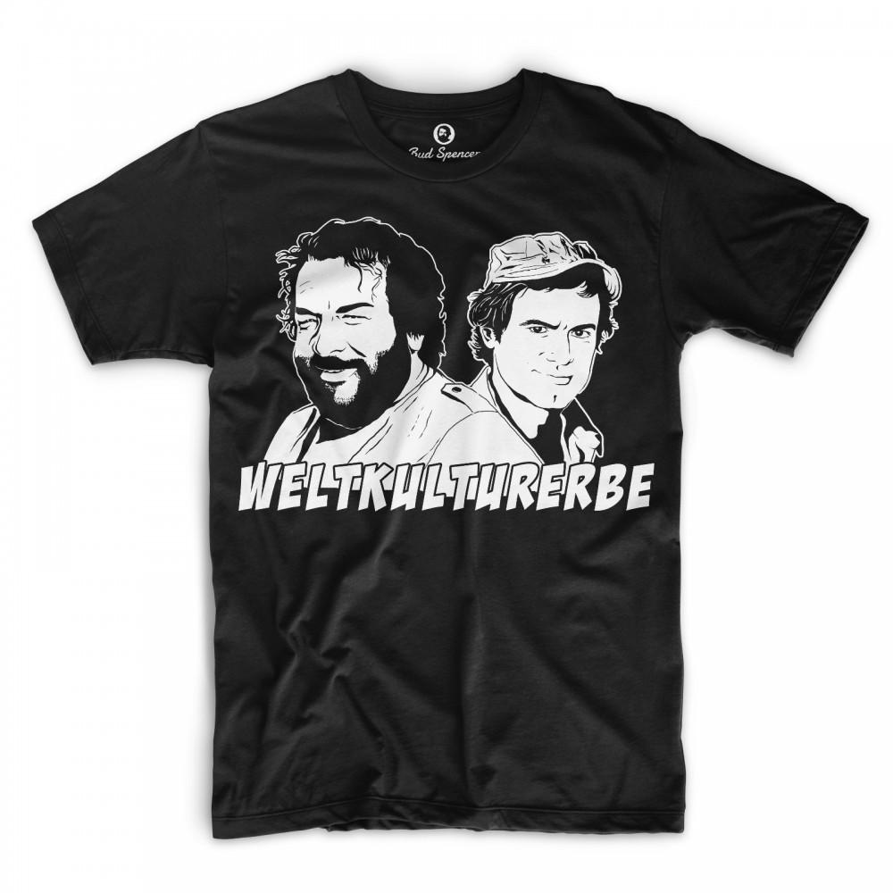Weltkulturerbe - T-Shirt (schwarz) - Bud Spencer® XXL