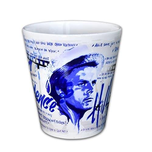 Terence Hill – Cappuccino Tasse – Strohhut (330ml)
