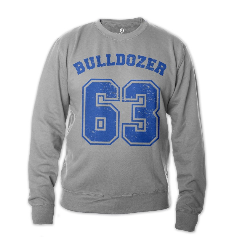 Bulldozer 63 - Sweatshirt (grau) - Bud Spencer®