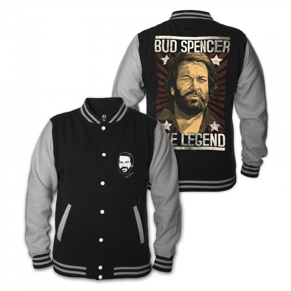 LEGEND - College Jacke (schwarz) - Bud Spencer® XXL