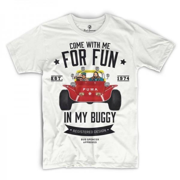 Zwei wie Pech und Schwefel - T-Shirt (weiss) - Bud Spencer®