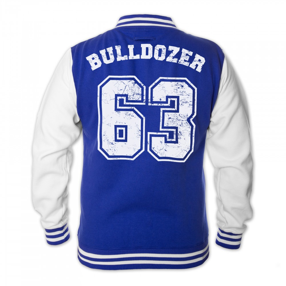 Bulldozer 63 - College Jacke (blau) - Bud Spencer® S