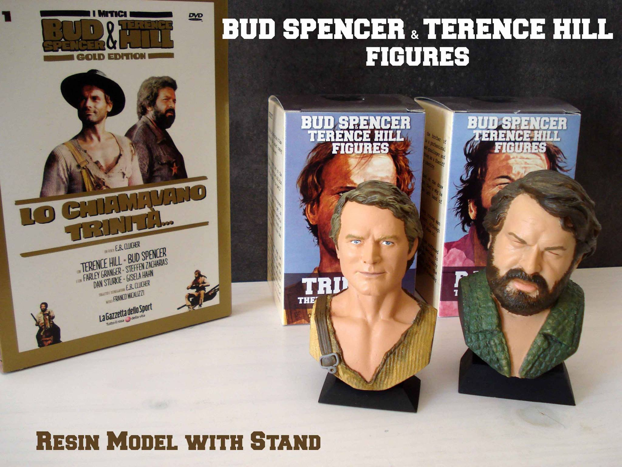 Bud Spencer Bambino & Terence Hill Trinity Figure Set