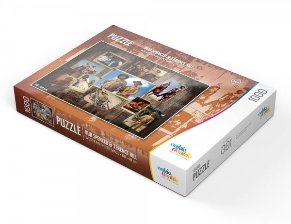 Bud Spencer und Terence Hill Puzzle 1000 Teile