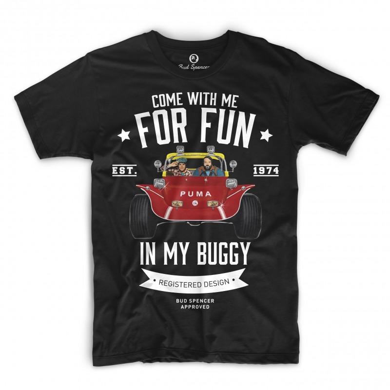 Zwei wie Pech und Schwefel - T-Shirt (schwarz) - Bud Spencer® S