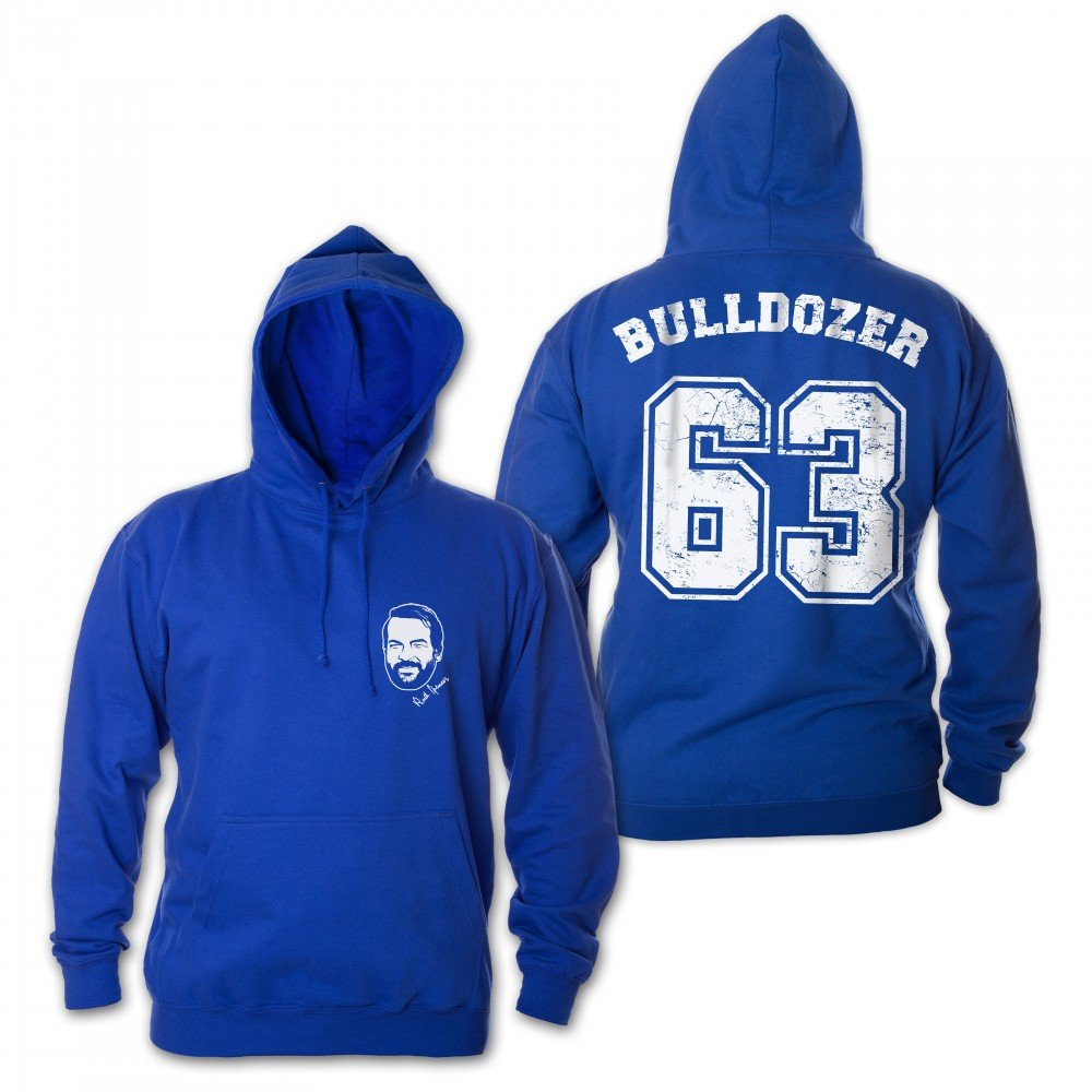 Bulldozer 63 - Hoodie (blau) - Bud Spencer®
