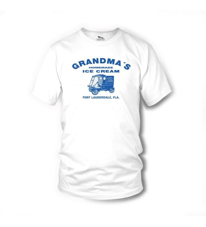 Grandma´s Ice Cream - T-Shirt (weiss) - Zwei sind nicht zu bremsen - Terence Hill L