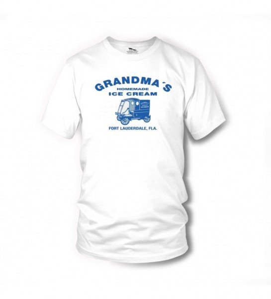 Grandma´s Ice Cream - T-Shirt (weiss) - Zwei sind nicht zu bremsen - Terence Hill