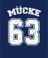 Mücke 63 - T-Shirt blau