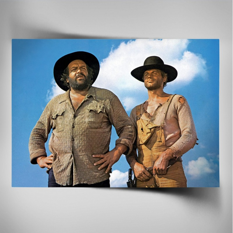 Poster - Der Kleine & Der müde Joe / Die rechte und die linke Hand des Teufels - Bud Spencer®