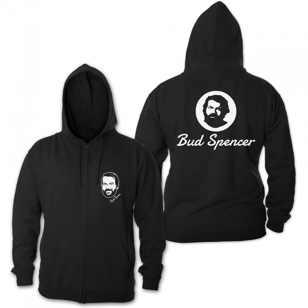 Official Logo - Zipper Jacke (schwarz) - Bud Spencer® 3XL