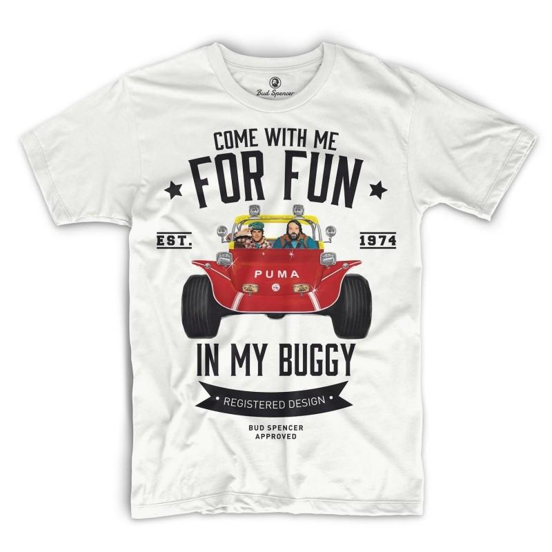 Zwei wie Pech und Schwefel - T-Shirt (weiss) - Bud Spencer® S