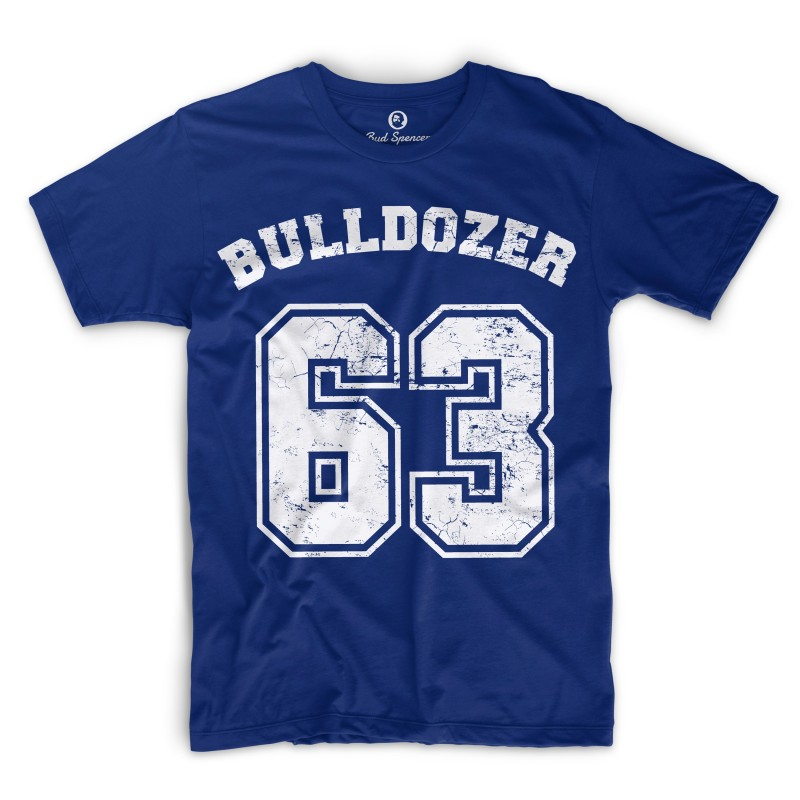 Bulldozer 63 - T-Shirt (blau) - Bud Spencer® XL