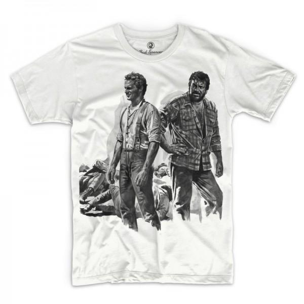 Zwei Himmelhunde auf dem Weg zur Hölle - T-Shirt (weiss) - Bud Spencer®