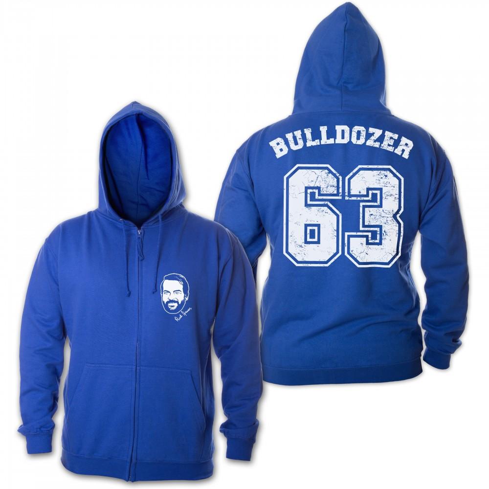 Bulldozer 63 - Zipper Jacke (blau) - Bud Spencer® XXL
