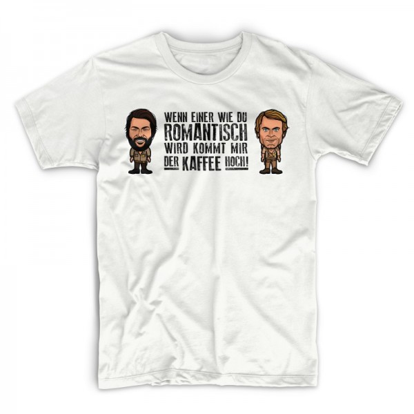 Romantisch - T-Shirt (weiss) - Bud Spencer®
