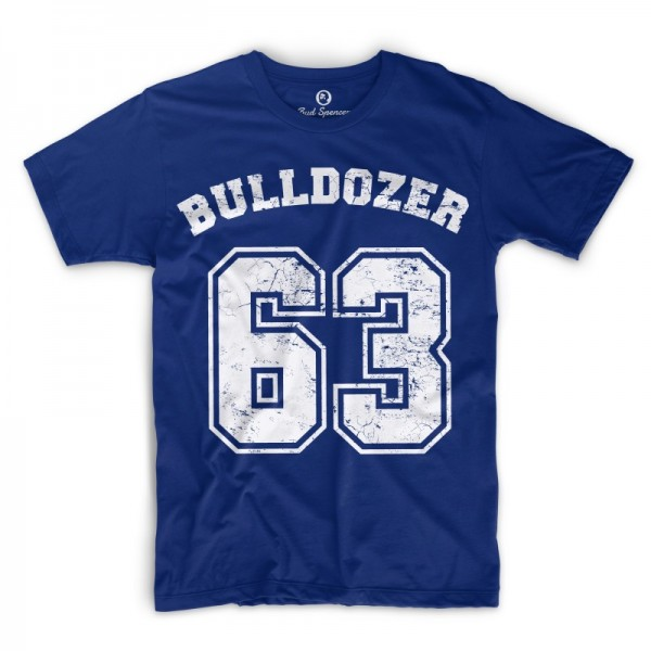 Bulldozer 63 - T-Shirt (blau) - Bud Spencer®