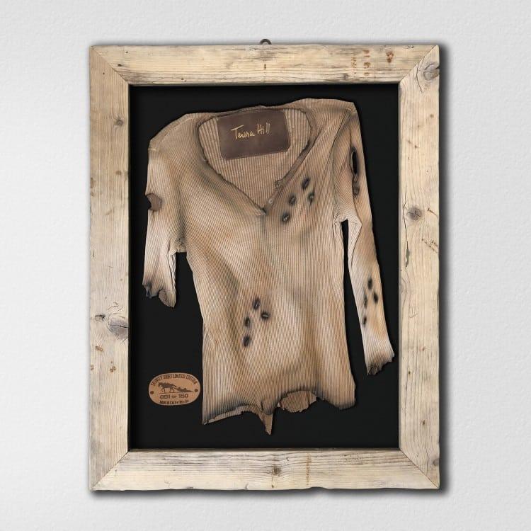 Limitiertes Trinity Shirt im Holzrahmen (Limitierte Auflage 150 Stück) Nr 12