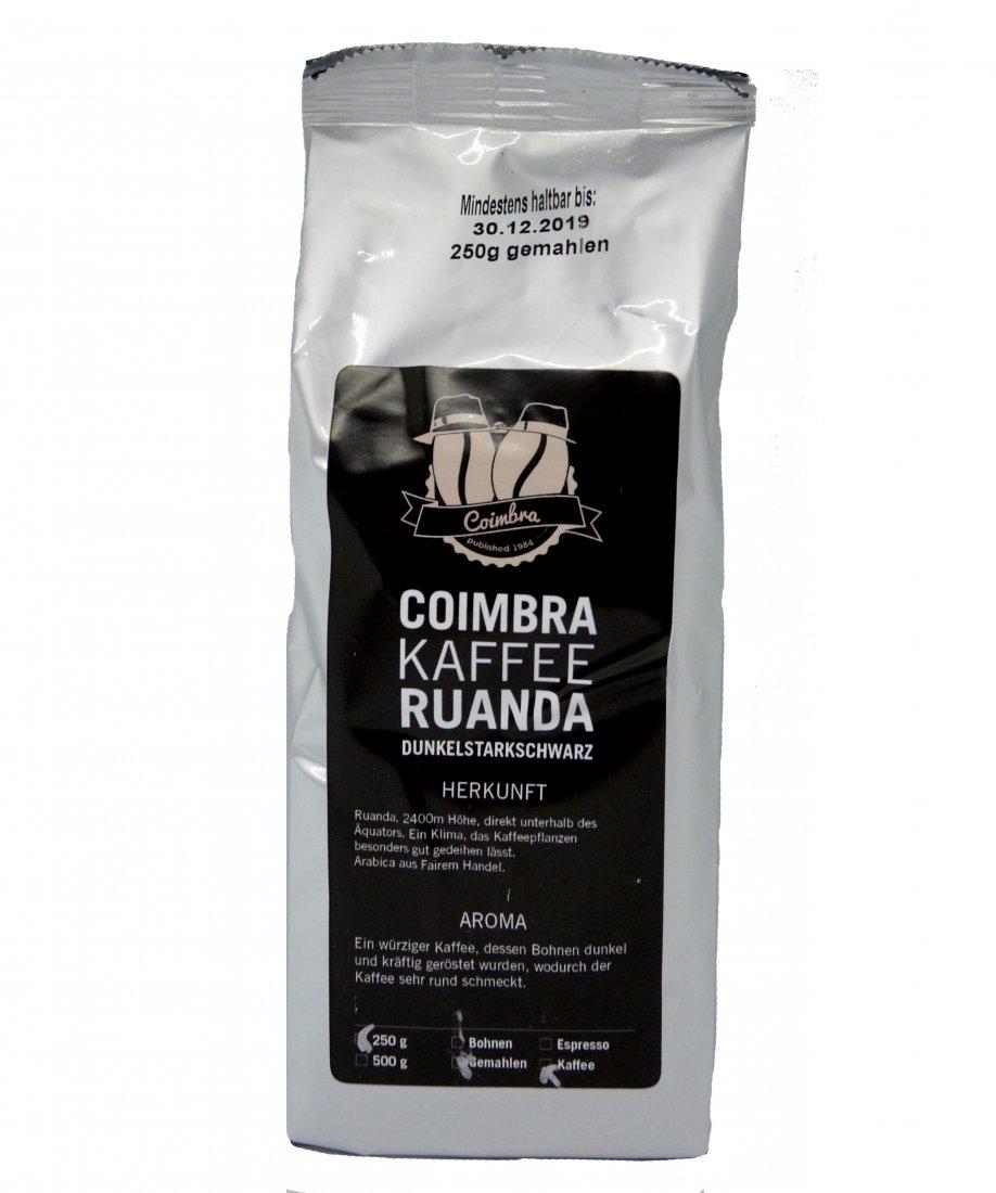 Coimbra Kaffee Ruanda - 250g gemahlen