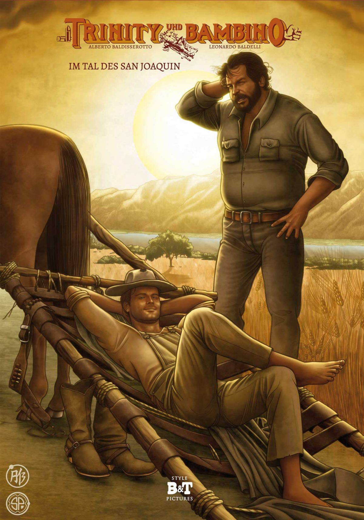 Im Tal des San Joaquin Comic Buch