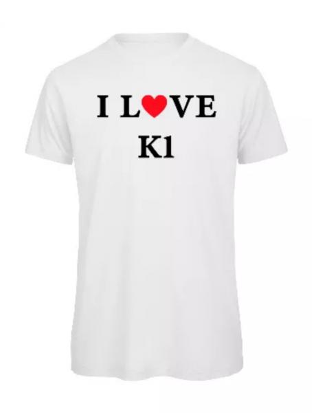 I Love K1 Shirt aus Zwei bärenstarke Typen