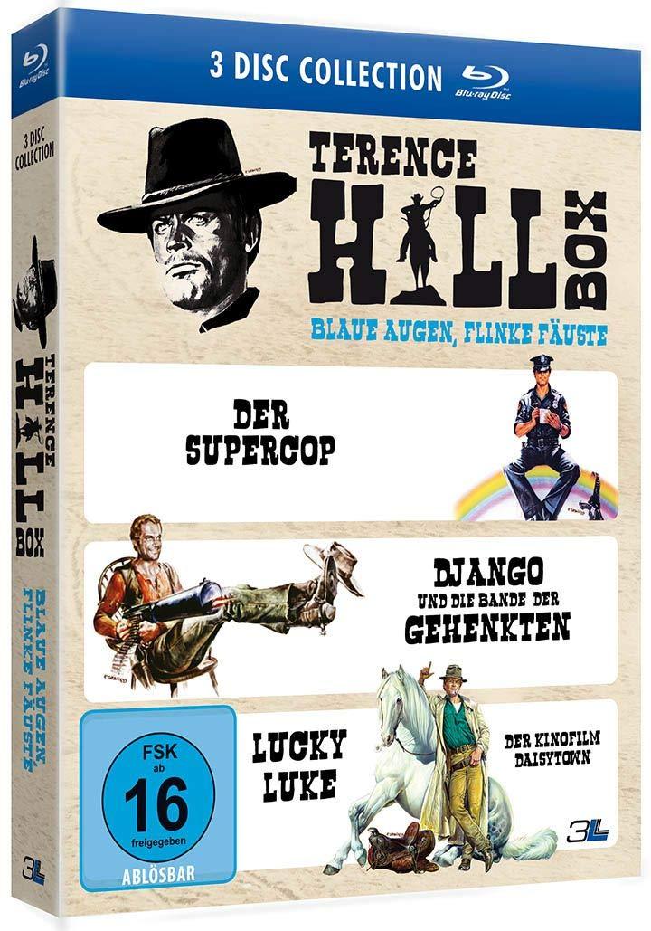 TERENCE HILL BOX - BLAUE AUGEN, FLINKE FÄUSTE Blu-ray